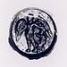 Daidalos, der fæstner vingerne på Ikaros. Hellenistisk-romersk ringsten