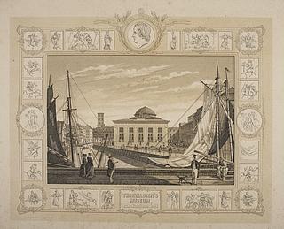 Thorvaldsens Museum set fra Frederiksholms Kanal