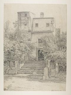 Et kapel på vejen fra Albano til Aricia