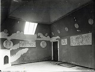 Skovgaard, interiør, spisesal