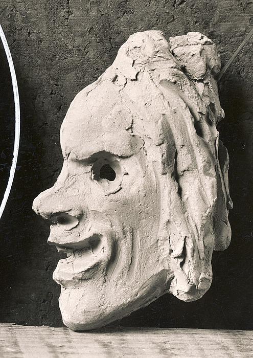 Komediens maske