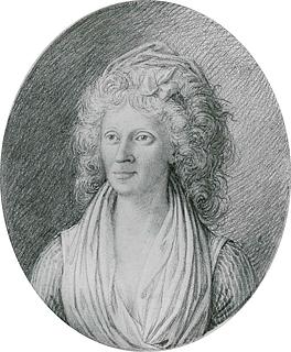 Thorvaldsen: Johanne Cathrine Rosing, c. 1794-96, blyant på papir, deponeret på Bakkehusmuseet af Thorvaldsens Museum