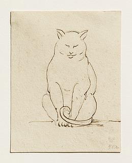 Siddende kat