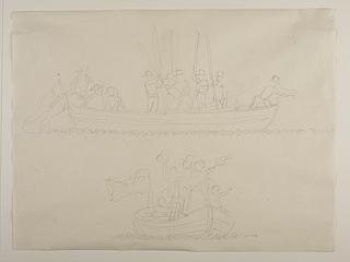 Afrejsen fra Nysø den 25. maj 1841