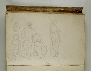 Stående og siddende figurer