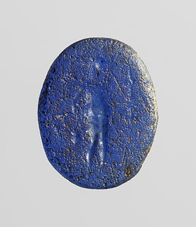 Anubis med palmegren og kande. Hellenistisk-romersk paste