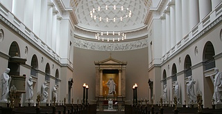 C.F. Hansen: Vor Frue Kirke, København, 1810-1826, beskåret