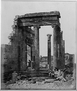 Erechtheion, Athen, 421-406 før vor tidsregning