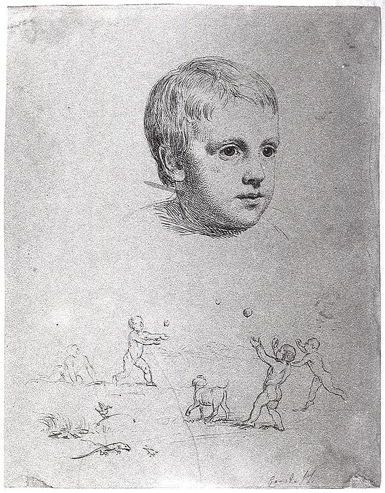 Barnehoved, Thorvald Nicolai Thiele