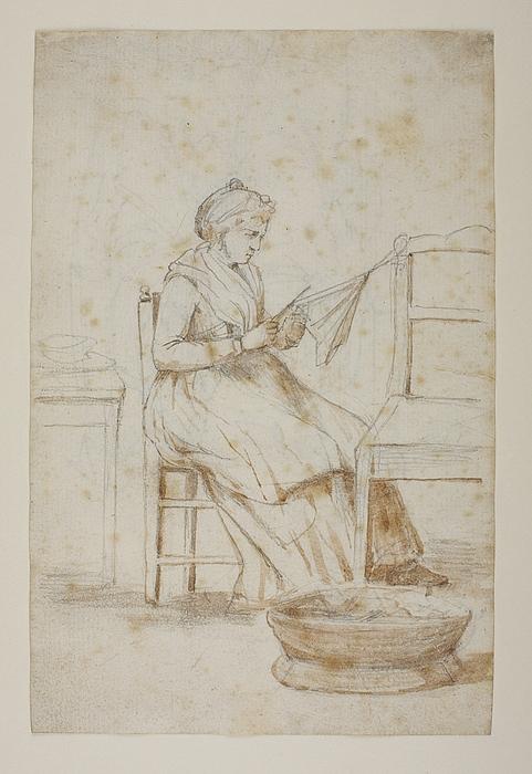 Siddene ældre kvinde, Orsola Polverini Narlinghi(?)