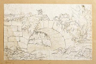 Ponte de Nono over floden Marrano udenfor Rom (?)