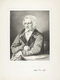 Portræt af Thorvaldsen