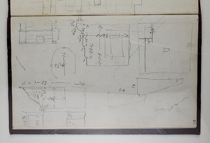 Arkitektur, opmåling af detaljer