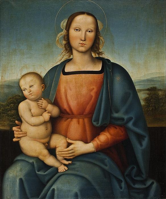Maria med barnet
