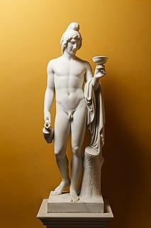 Bertel Thorvaldsen: Ganymedes rækker skålen, 1804 (Copyright tilhører Thorvaldsens Museum)
