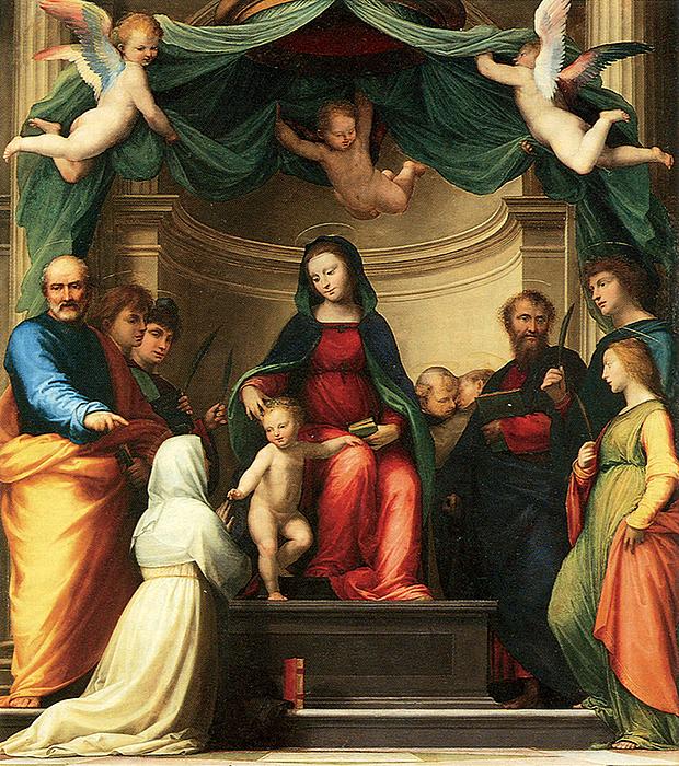 Fra Bartolommeo: Sacra Conversazione, Louvre