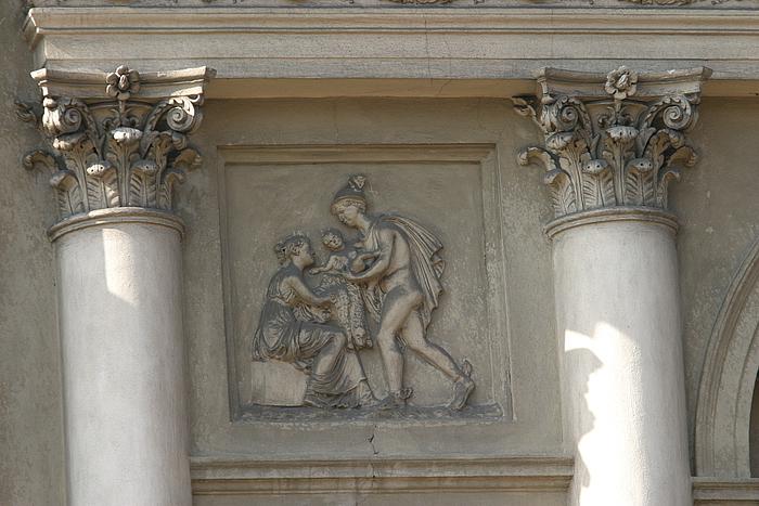 Ukendt studerende af Konstanty Hegel: Merkur bringer Bacchus til Ino (efter Thorvaldsen)