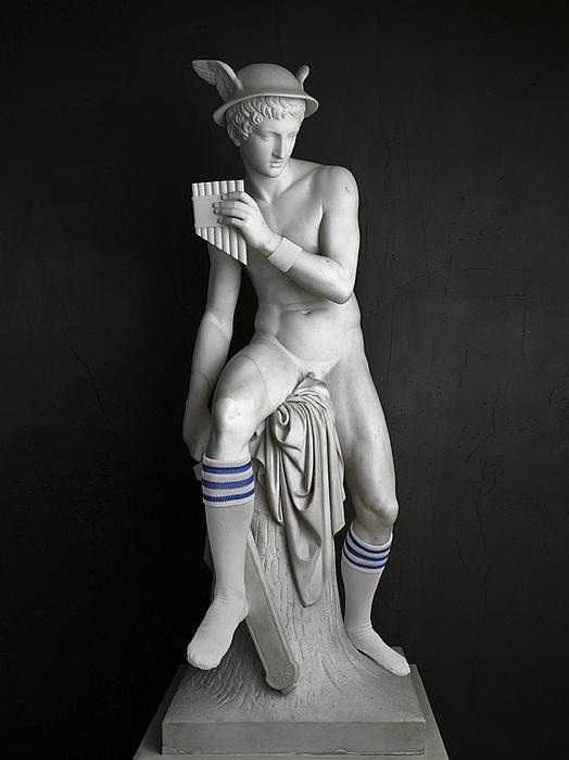 Elmgreen & Dragset: Mercury (Socks), 2009