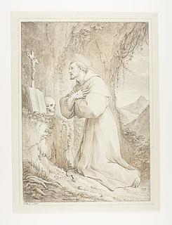 St Francis i bøn