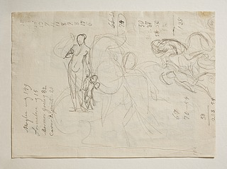 Venus og Amor. Kamp mellem kriger og (kvindelig?) rytter