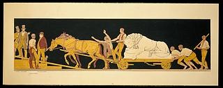 Schweizerløvens transport