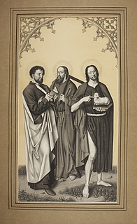Bartholomæus, Thomas og Johannes