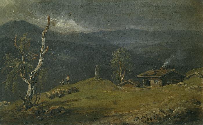 Landskab fra øvre Telemark
