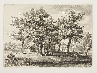 Die Heimath ( Huse mellem træer )