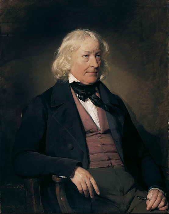Friedrich von Amerling: Thorvaldsen