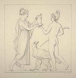 Hebe og Ganymedes