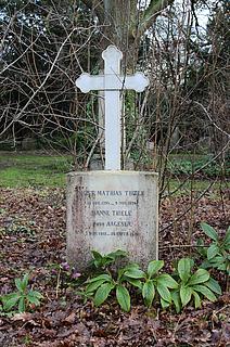 Thieles gravmæle på Assistens Kirkegård