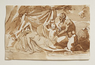 Jupiter som satyr og Antiope