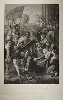 Kristus falder på vej til Golgatha