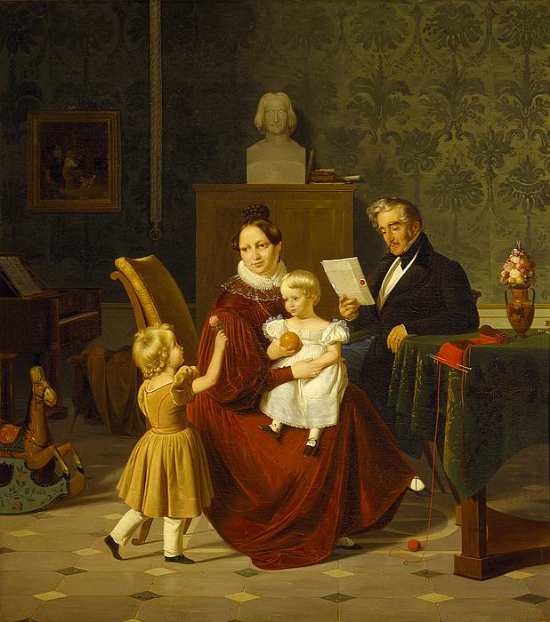 Oberst Paulsens familie