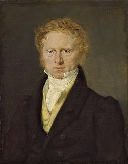 C.A. Jensen: Hans Puggaard, 1828, olie på lærred, 23,3 x 18,5 cm, Aros - Aarhus Kunstmuseum, inv. nr. Maleri 443