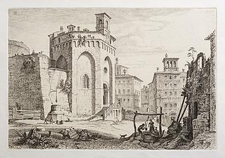 Veduta di S. Ercolano in Perugia