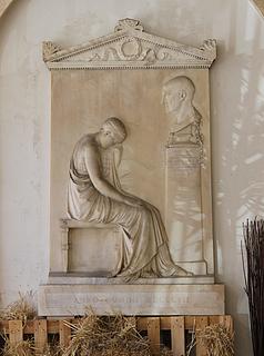 Antonio Canova: Gravmæle for Giovanni Volpato, Santi Apostoli, Rom