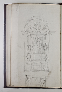 Monument over Pius 7. (?)