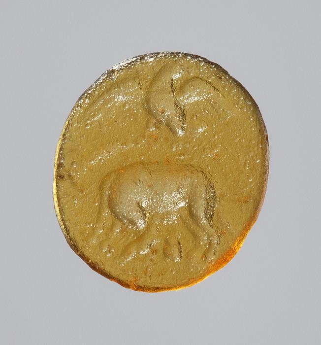Ulvinden med Romulus og Remus. Hellenistisk-romersk paste