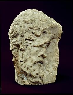 Relief med Polyfem (forside) og Pan (bagside). Romersk
