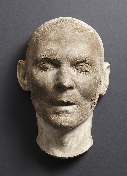 Gottlieb Bindesbøll, dødsmaske