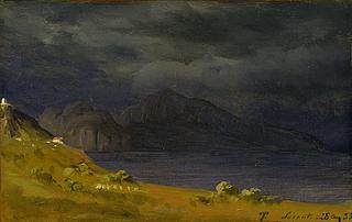 Capri set fra Sorrento