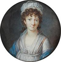 Cornelius Høyer: Charlotte Schimmelmann, ca. 1800