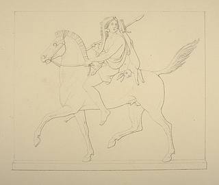 Jæger til hest