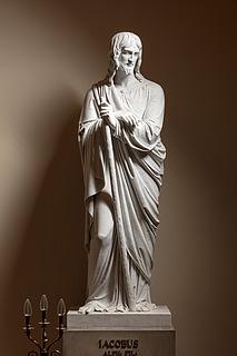 Jakob den Yngre, marmor, Vor Frue Kirke