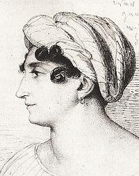 Wilhelm Hensel, Henriette Herz, 1823
