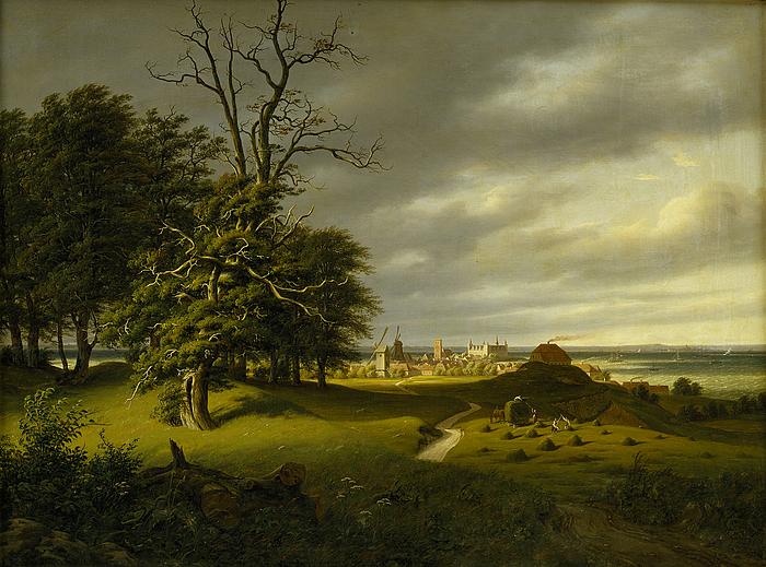 Helsingør mod Kronborg, efterår