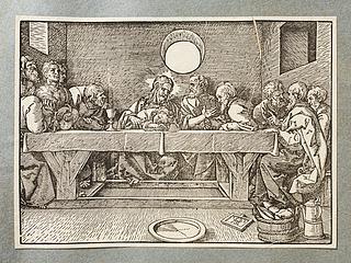 Kristus med disciplene efter nadveren