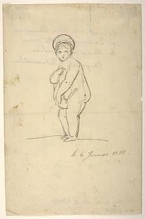 Karikatur af prinsesse Charlotte Frederikke af Mecklenburg Schwerin som den medicæiske Venus