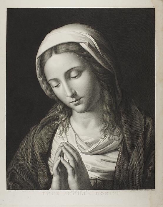 mary praying  mater amabilis  e524
